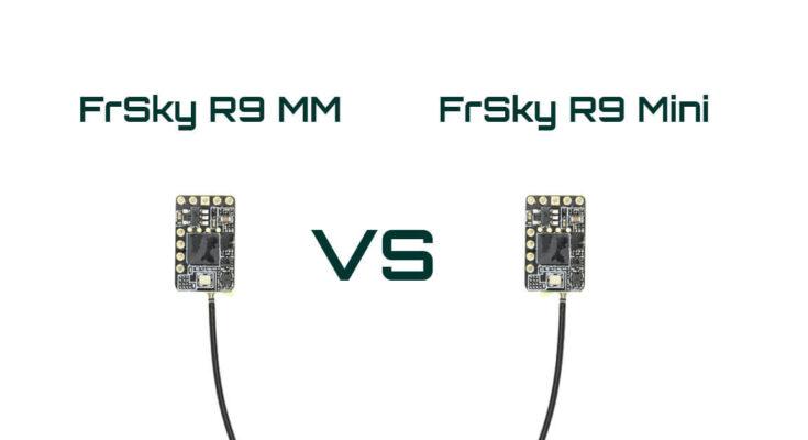 FrSky R9 MM vs R9 Mini